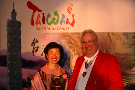 Neil with Representative of Taiwan